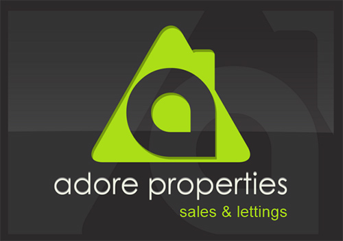 Adore Properties logo promoting their advent calendar prize