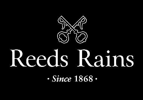 Reeds Rains logo promoting their advent calendar prize