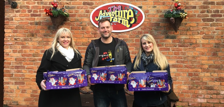 Festive cheer for childrens charity