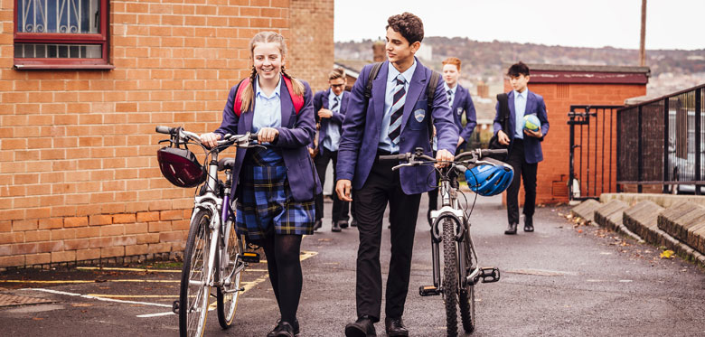 Bike to school day - 9th May 2018