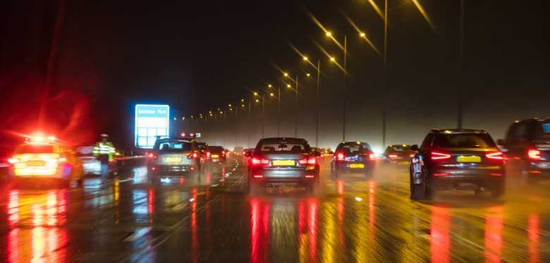 Staying safe when driving in the dark