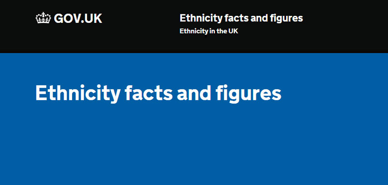 Government launch Ethnicity facts and figures website