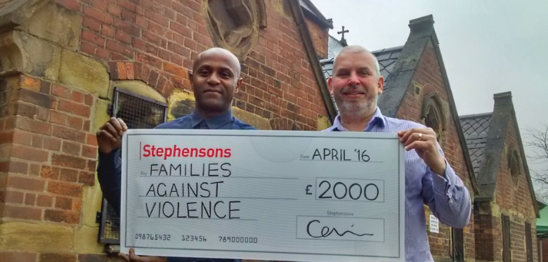 £2k donation to help Manchester charity tackle gang violence