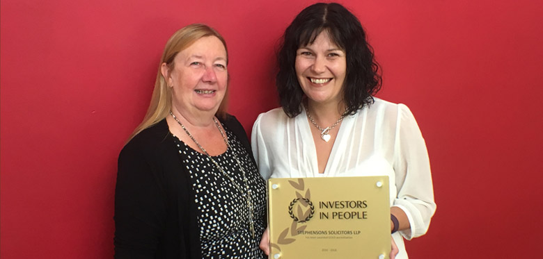 Investors in People Gold for Stephensons