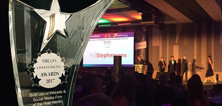 Stephensons awarded top digital prize for second year running