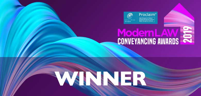 A brace of wins for Stephensons at the Modern Law Conveyancing Awards