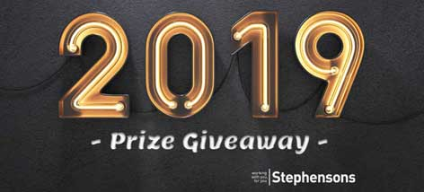 Lets get 2019 off to a flying start - prize giveaway