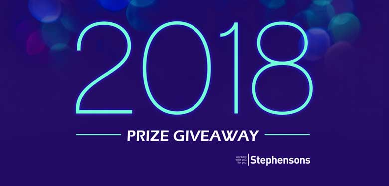 Lets get 2018 off to a flying start - prize giveaway