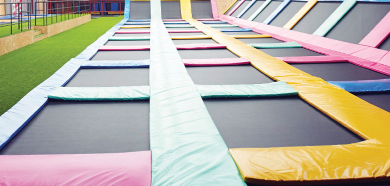 Trampoline park safety concerns