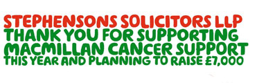About Macmillan - our charity of the year