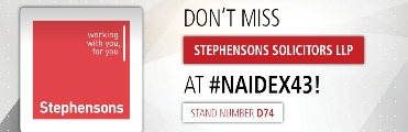 Stephensons Naidex Disabled Holiday giveaway at stand D74