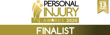 Stephensons named a finalist in the Personal Injury Awards 2020