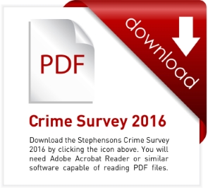 Download Stephensons Crime Report 2016 here