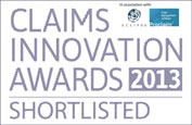 Claims Innovation Awards 2013 - Shortlisted