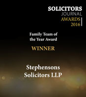 Solicitors Journal - Family Team of the Year 2016