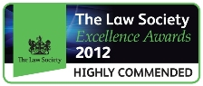 The Law Society Excellence Awards 2012