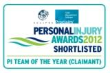 Personal Injury Awards 2012
