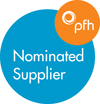 PfH nominated supplier